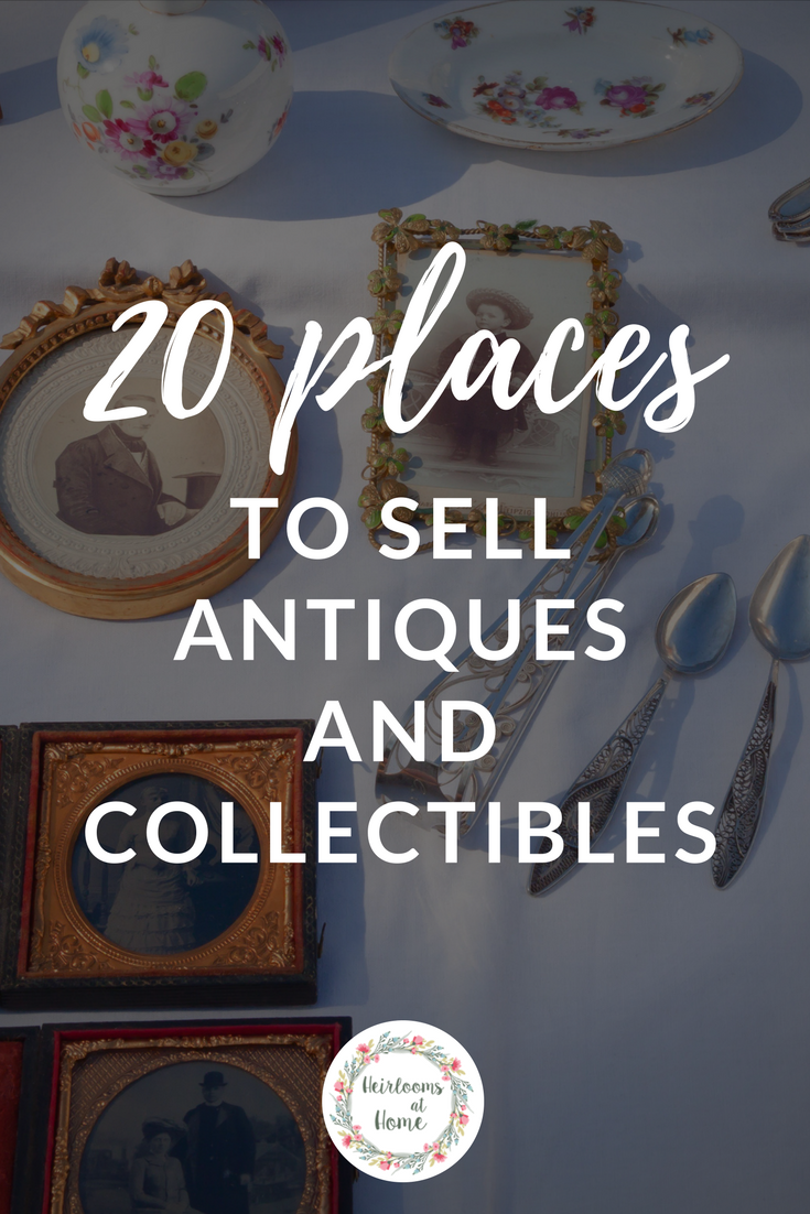 20 Places to sell antiques and collectibles